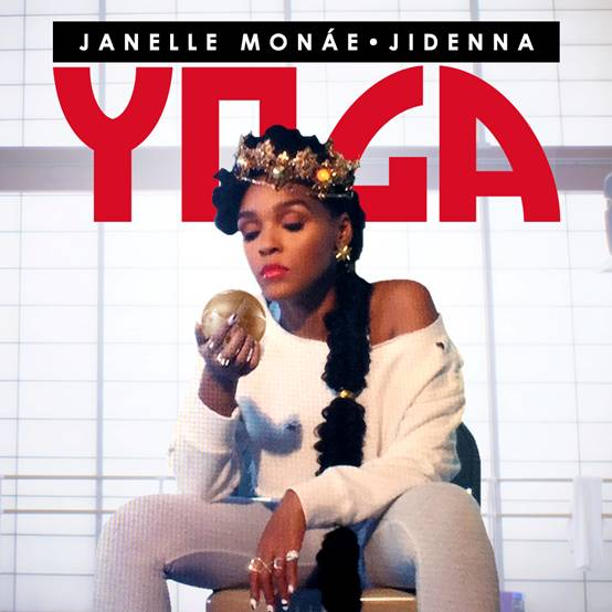 "Download Janelle Monae's new single featuring Jidenna ""Yoga"" on iTunes here."